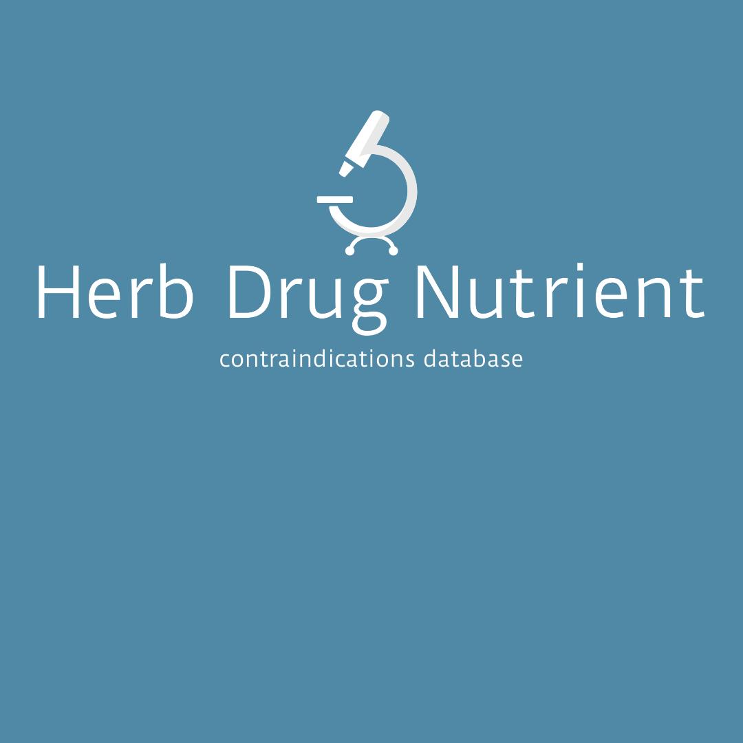 Herb Drug Nutrient Logo